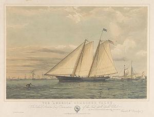 Thuyền Buồm AMERICA