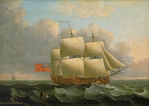 Mô Hình Tàu Chiến ROYAL CAROLINE